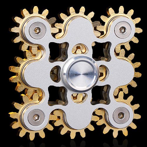 spinner-toy estilo steampunk