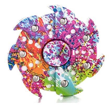 TANAINA Tri Fidget Hand Spinner Toys