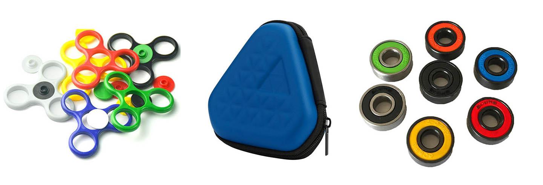 accesorios para fidget spinner