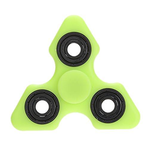 Anself - Luminoso Tri Fidget Finger Spinner, ABS Marco, 608 Acero Cojinete, Juguete de Anti-ansiedad Anti-estrés Entrenamiento del Equilibrio Atenciones