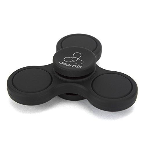 ATOMIX - El juguete más nuevo mini Fidget Hand Spinner Reductor de presión para adultos y niños con material duradero y de alta velocidad y larga duración.