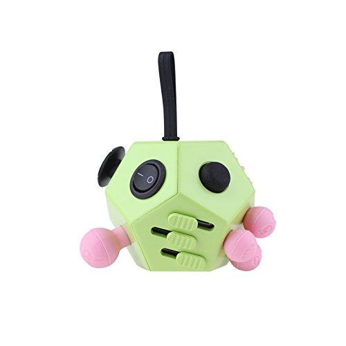 """Fidget cube cubo de estrés como """"la persona agitada cubo original"""" como un juguete perfecto para la carretera, en el trabajo o en la sala de espera a la distracción contra el estrés, pasatiempo, nerviosismo en la oficina, en la escuela o en casa Tk Grupo"""
