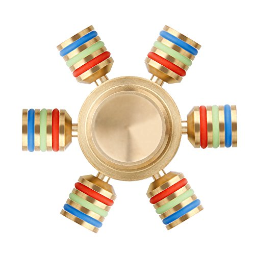 Fidget Finger Spinner, Tronisky Fidget Dedo Spinner Giocattolo Dedo Fidget Toy Tri mano Spinner Regalo de juguete