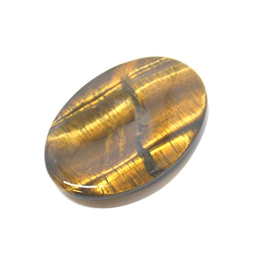 Golden Tigers Eye Thumb Worry Palm Stone