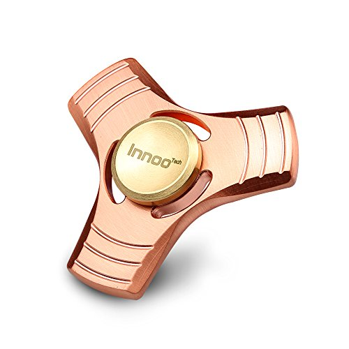Innoo Tech Tri Fidget Hand Spinner Juguete en Mano Material de Cobre Rojo