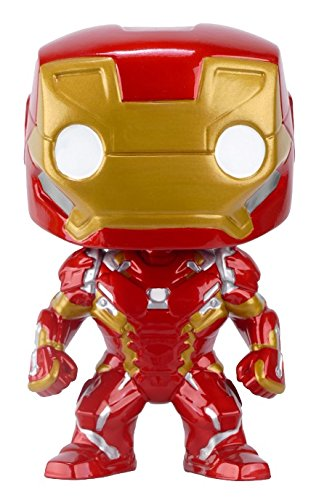 Iron Man - Pop Vinyl: Civil War, figura de acción (Funko FUN7224)