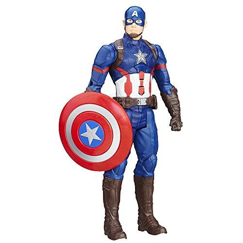Marvel Avengers - Figura electrónica Capitán América (Hasbro B6176105)
