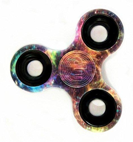 MUPATER Fidget Toys Hand Spinner, Fidget Juguete, Reductor de Estrés para los Niños y Adultos, Cielo Psicodélico
