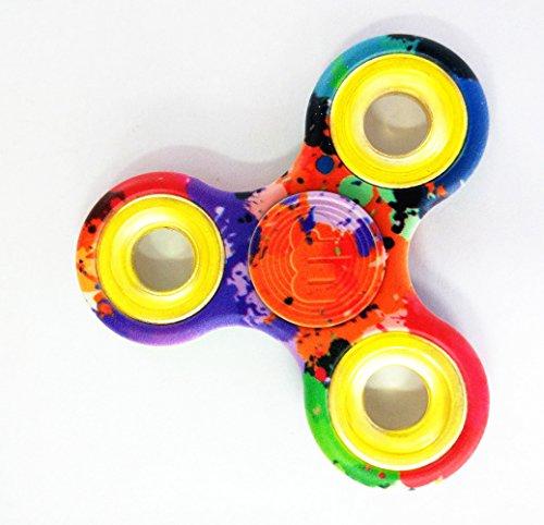 MUPATER Fidget Toys Hand Spinner, Fidget Juguete, Reductor de Estrés para los Niños y Adultos, Multicolor Camo