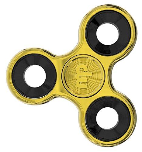 MUPATER Fidget Toys Hand Spinner, Fidget Juguete, Reductor de Estrés para los Niños y Adultos, Nuevo Oro