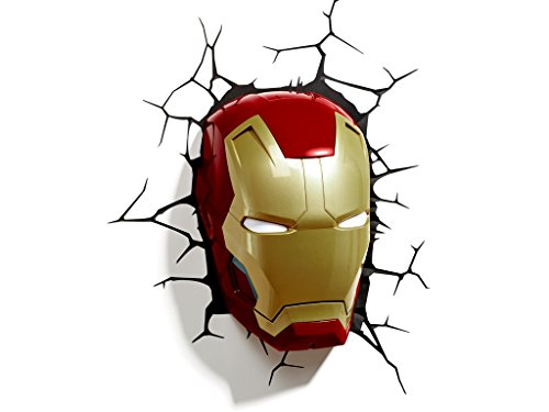 Philips 71787/55/16 - Máscara de luz LED en 3D, diseño de Iron Man