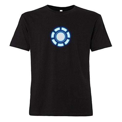shirtworld–Arc Reactor–Camiseta negro M