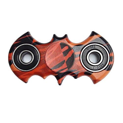 Spinner Fidget, Juguete Anti Ansiedad para Niños Jóvenes Adultos (Murciélago)