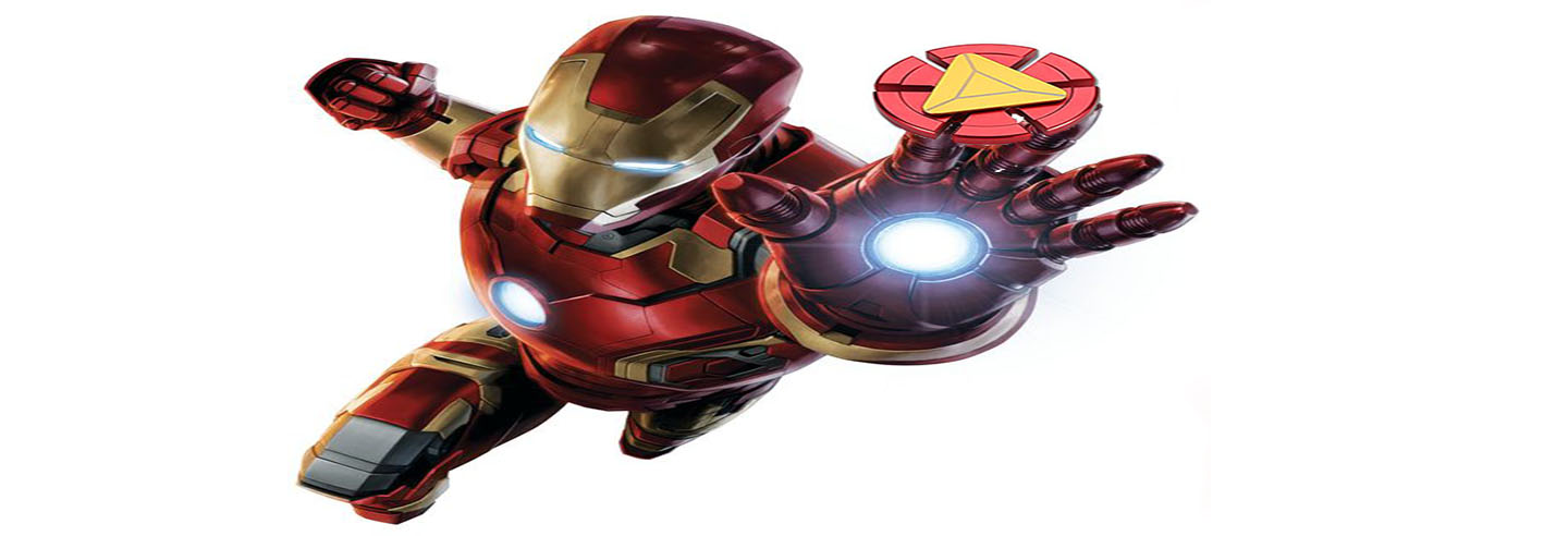 spinner de Iron Man