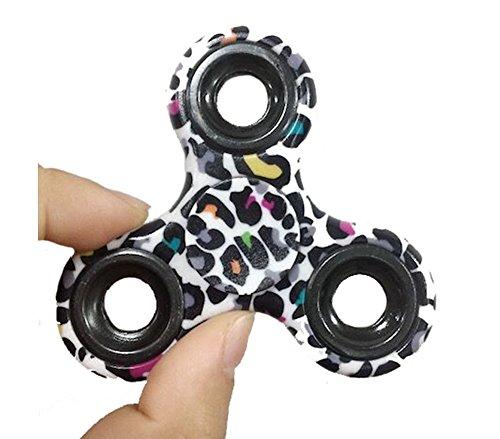 YSBER Fidget mano Spinner camuflaje juguete Ultra resistente Alta Velocidad exquisita mano Spinner(Verde)