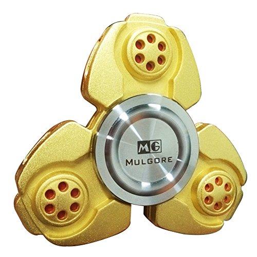 MULGORE CKF Fidget Spinner metal mano hilandero 2017 explosión caliente dedo de los juguetes mejor regalo de los niños de alta velocidad 1-5 min giros hechos con calidad superior ultra duradera
