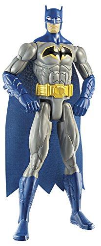 Batman - Figura grande de Batman, 30 cm, color azul y gris (Mattel CDM63)