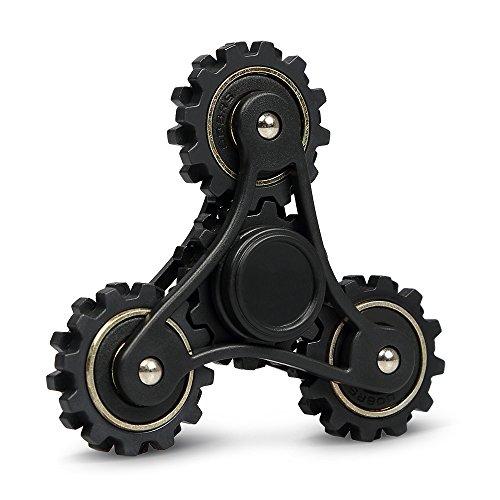 Fidget Spinner Innoo Tech Tri Hand Spinner Engranaje 3-5 Minutos Juguete EDC Alta Velocidad para Niños y Jóvenes Adultos Durable y Robusto