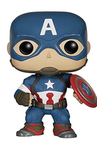 Funko Pop! - Bobble: Marvel: Avengers AOU: Captain America (4778)