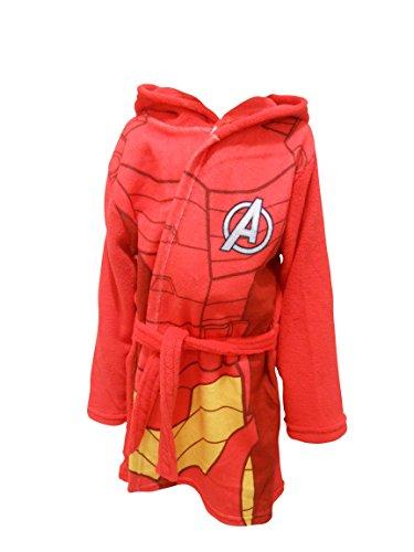 Iron Man - Albornoz - para niño rojo rosso 4-5 Años