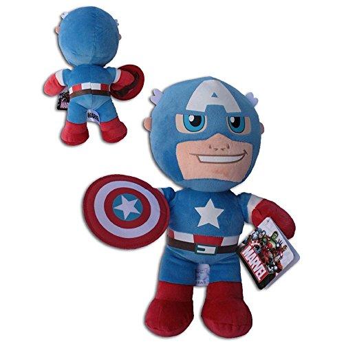 "Los Vengadores - Capitán América peluche 20cm Super Soft - Buena calidad ""The Avengers"" - Marvel"