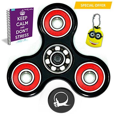 Primer molestar Spin ansiedad Con el bono de juguetes Atención Toy eBook incluido (Inglés) - Perfecto para agregar, ADHD, autismo alivia el estrés y la ansiedad y relajarse para niños y adultos